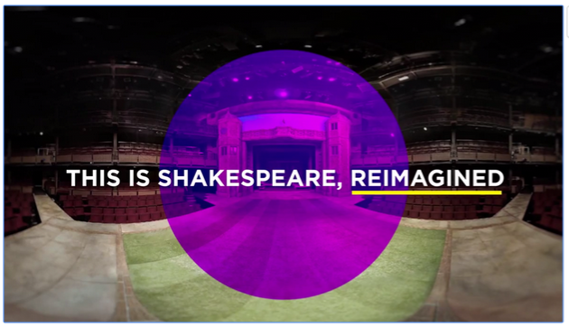 RE: Shakespeare by Samsung Electronics UK in coordination with the Royal Shakespeare Company