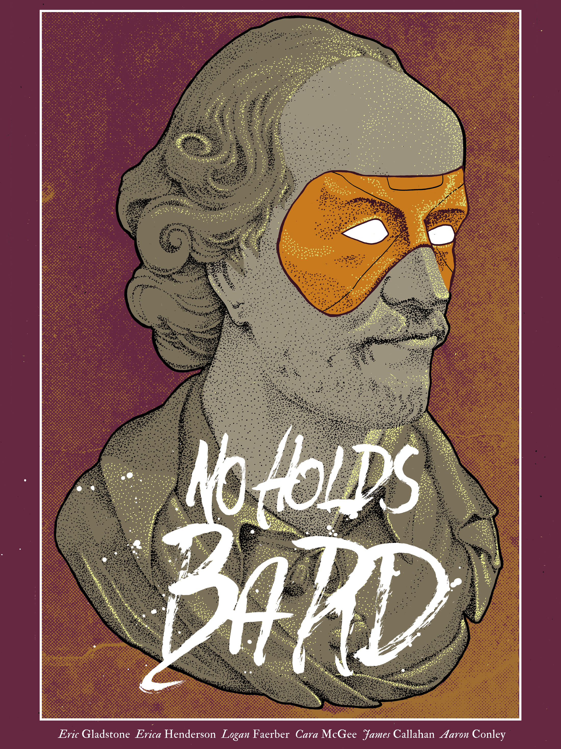 No Holds Bard, a comic book by Eric Gladstone